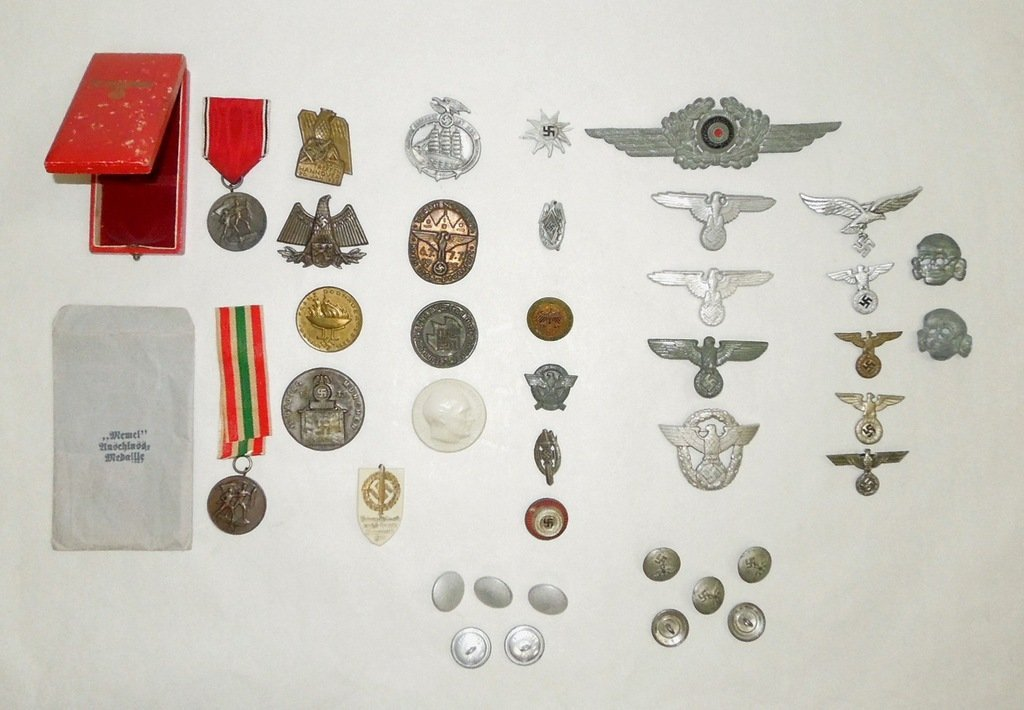 Extensive Collection of German WWII Badges and Tinnies