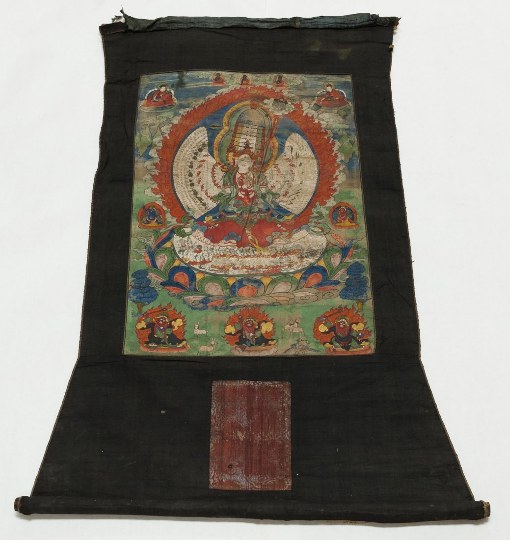 Tibetan Thangka.