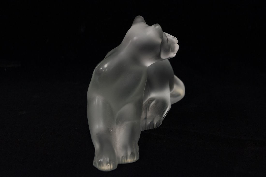 Lalique Crystal Simba Lioness. - 2