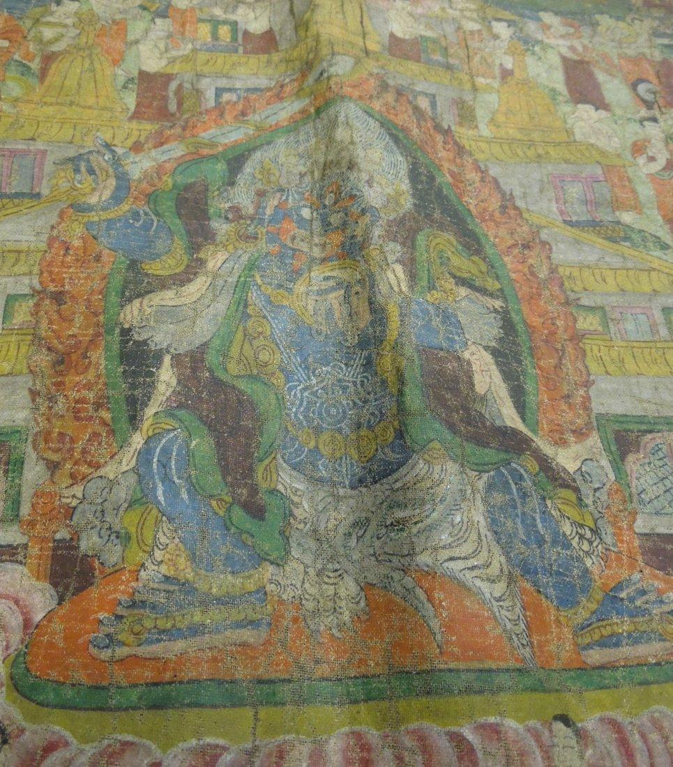 Tibetan Thangka. - 4