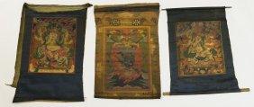 (3) Tibetan Thangkas.