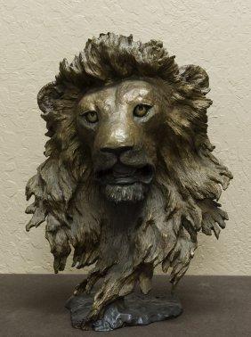 Mark Hopkins Bronze Sculpture, Guardian of the Plains.