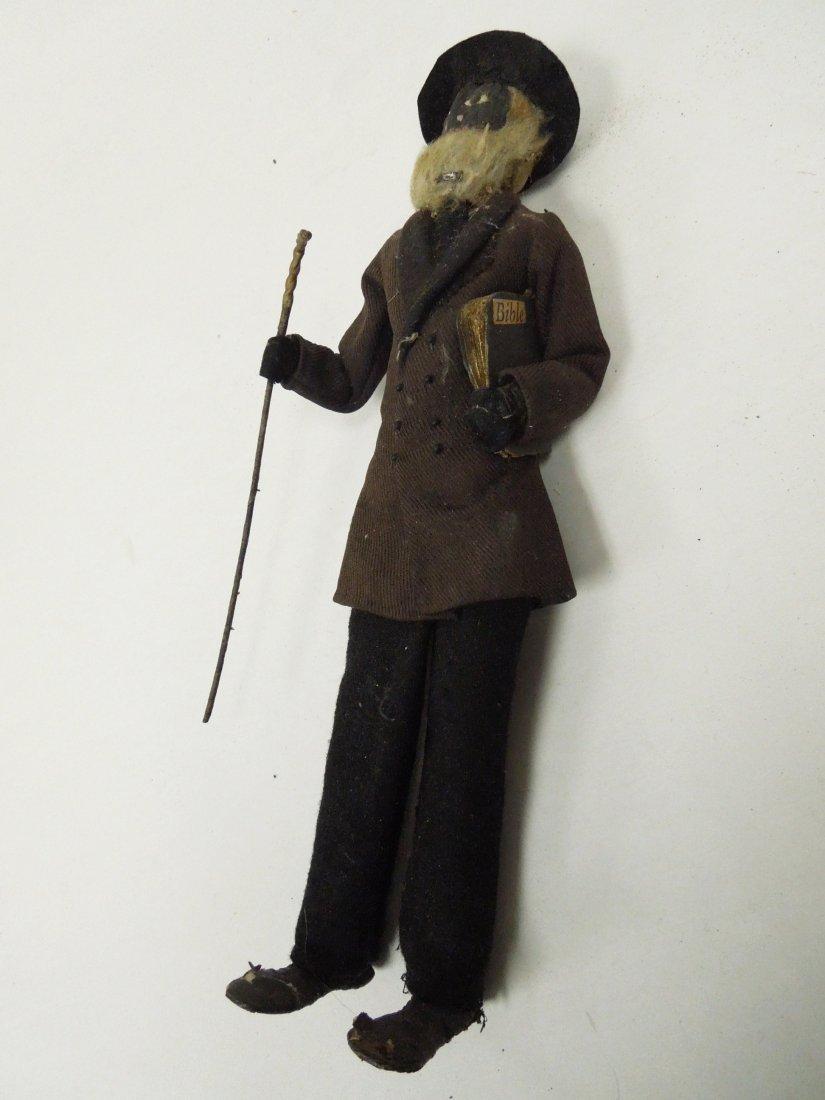 (8) Black Americana Folk Art Dolls. - 4