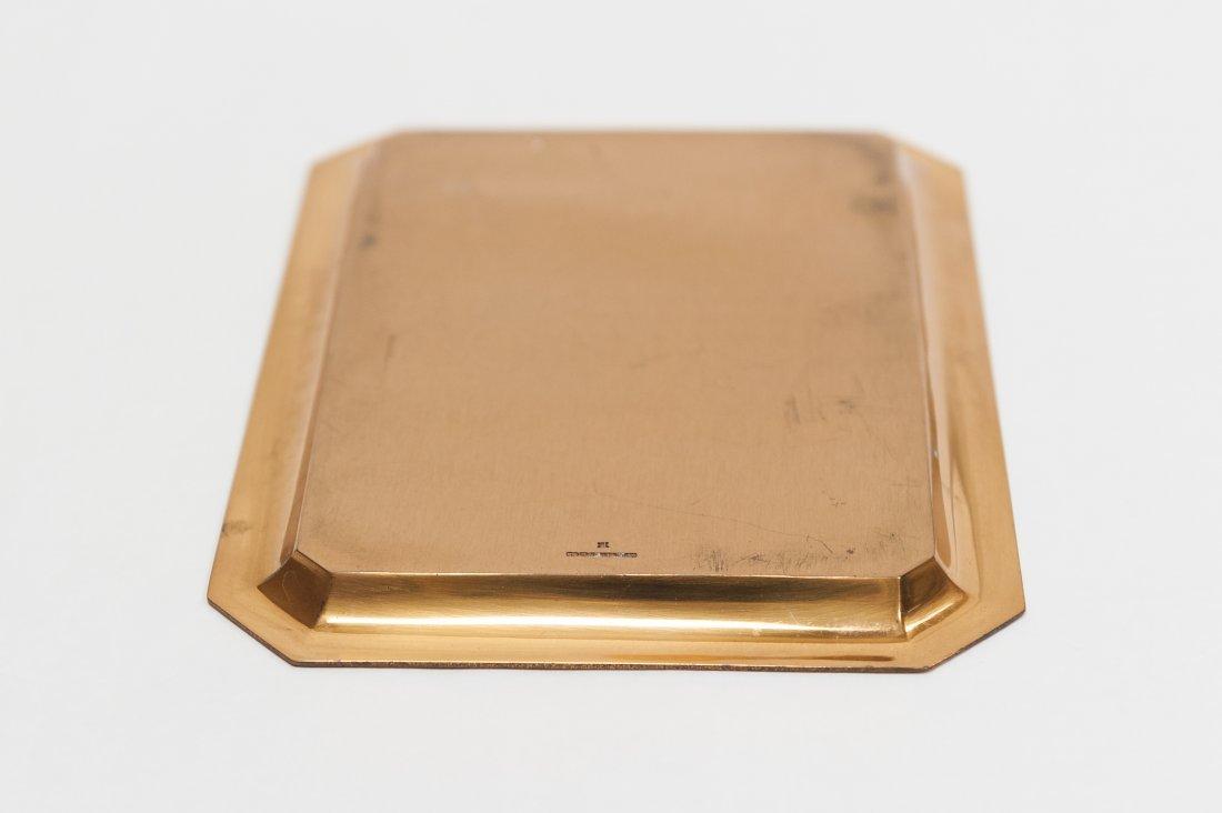 Tiffany & Co. Copper Wedding Invitation plate. - 2