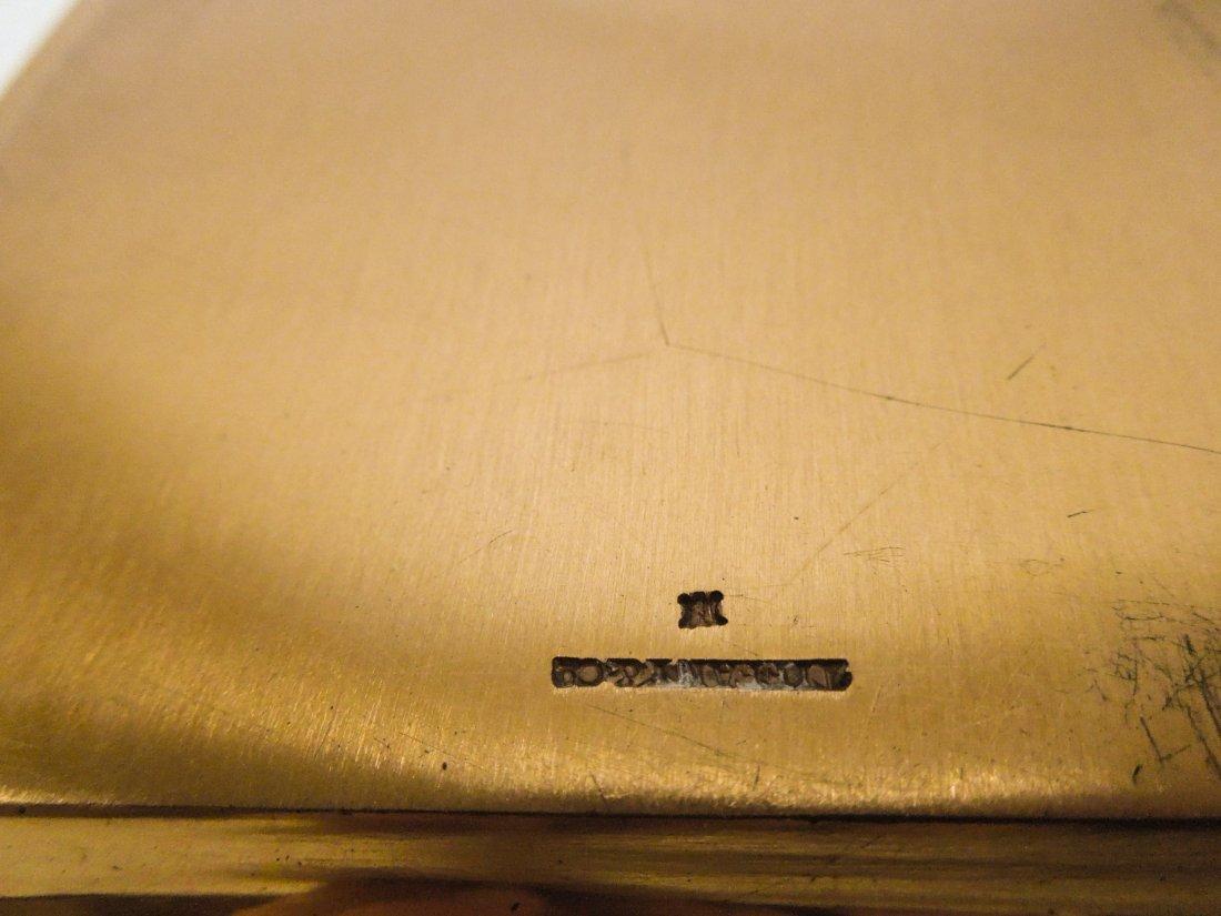 Tiffany & Co. Copper Wedding Invitation plate. - 3