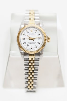 Lady's Rolex Oyster Perpetual Watch.