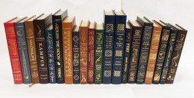 (20) Easton Press Leather Bound Novels.