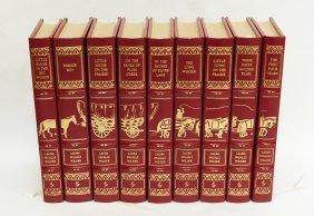 Set of (9) Easton Press Laura Ingalls Wilder Novels.