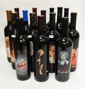 Marilyn Merlot Wine Vertical, 1985-1996