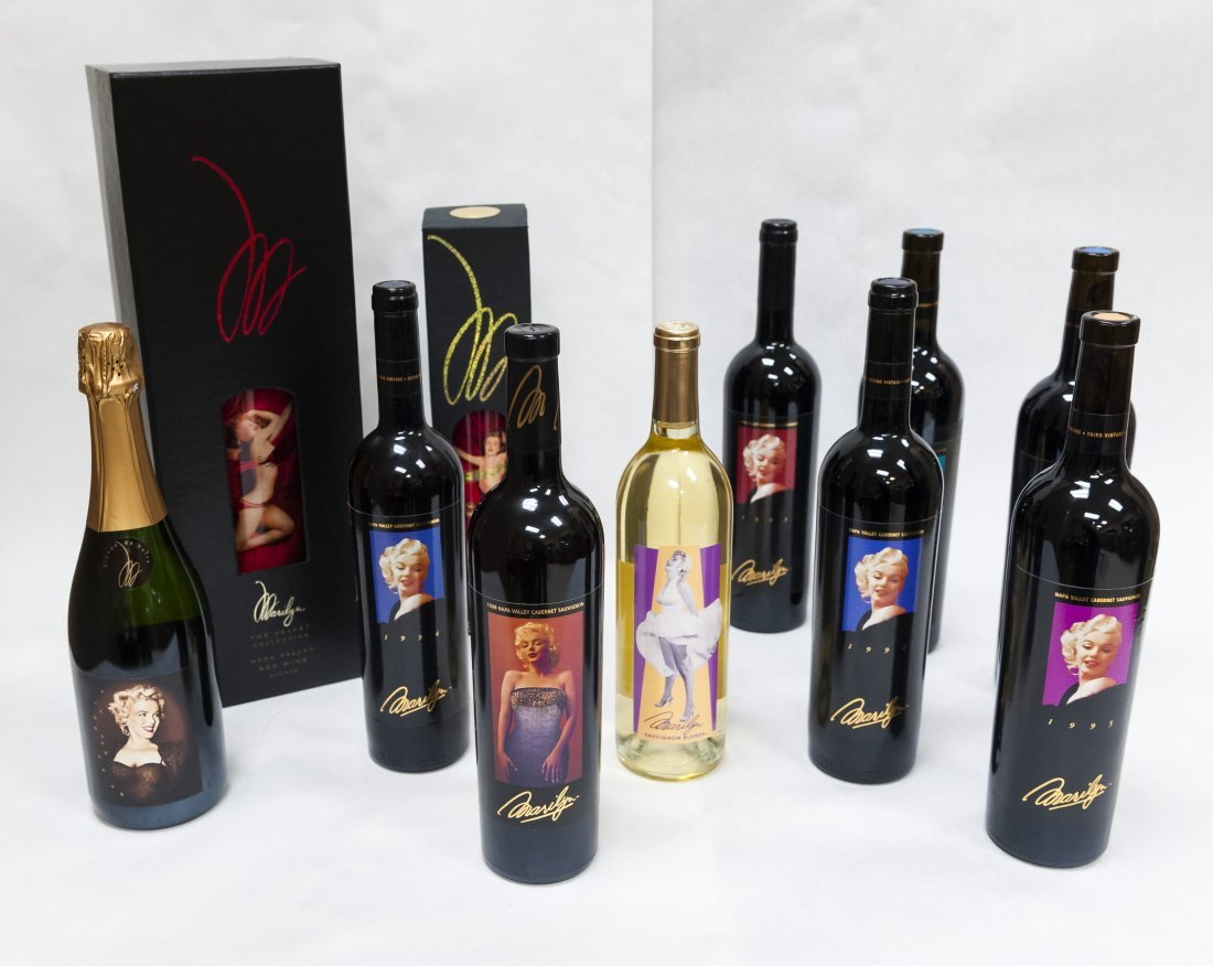 (11) Assorted Marilyn Monroe Wines