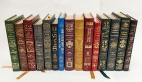 (15) Easton Press Signed First Edition Sci-Fi Novels.