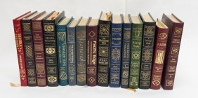 (15) Easton Press Signed First Edition Novels.