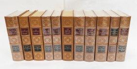 (11) Volumes, Easton Press, Story of Civilization.