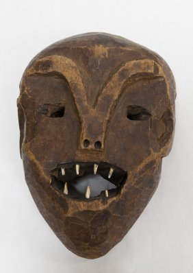 Bali or Related Peoples, DRC, Carved Mask.
