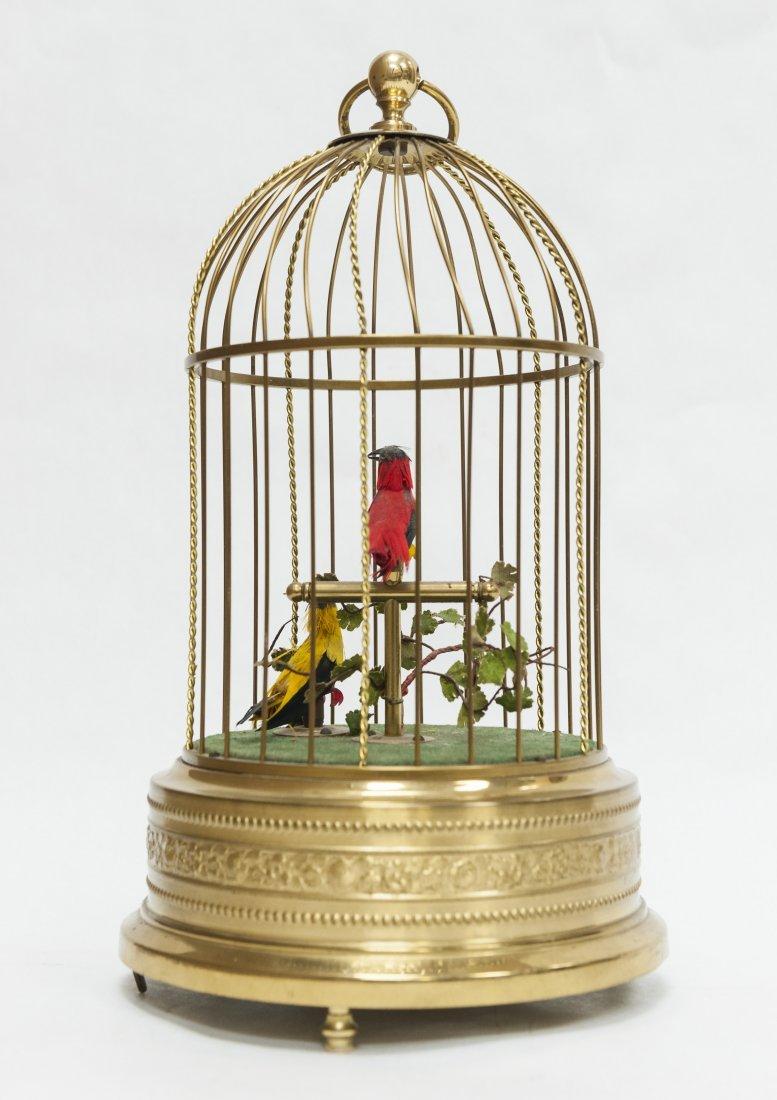 German Bird Cage Music Box. - 2