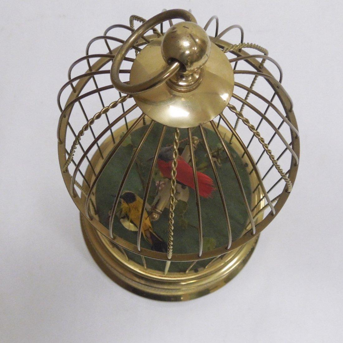 German Bird Cage Music Box. - 6