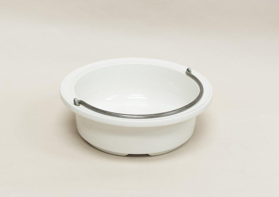 Dansk copper and brass chafing dish / fondue pot. - 4