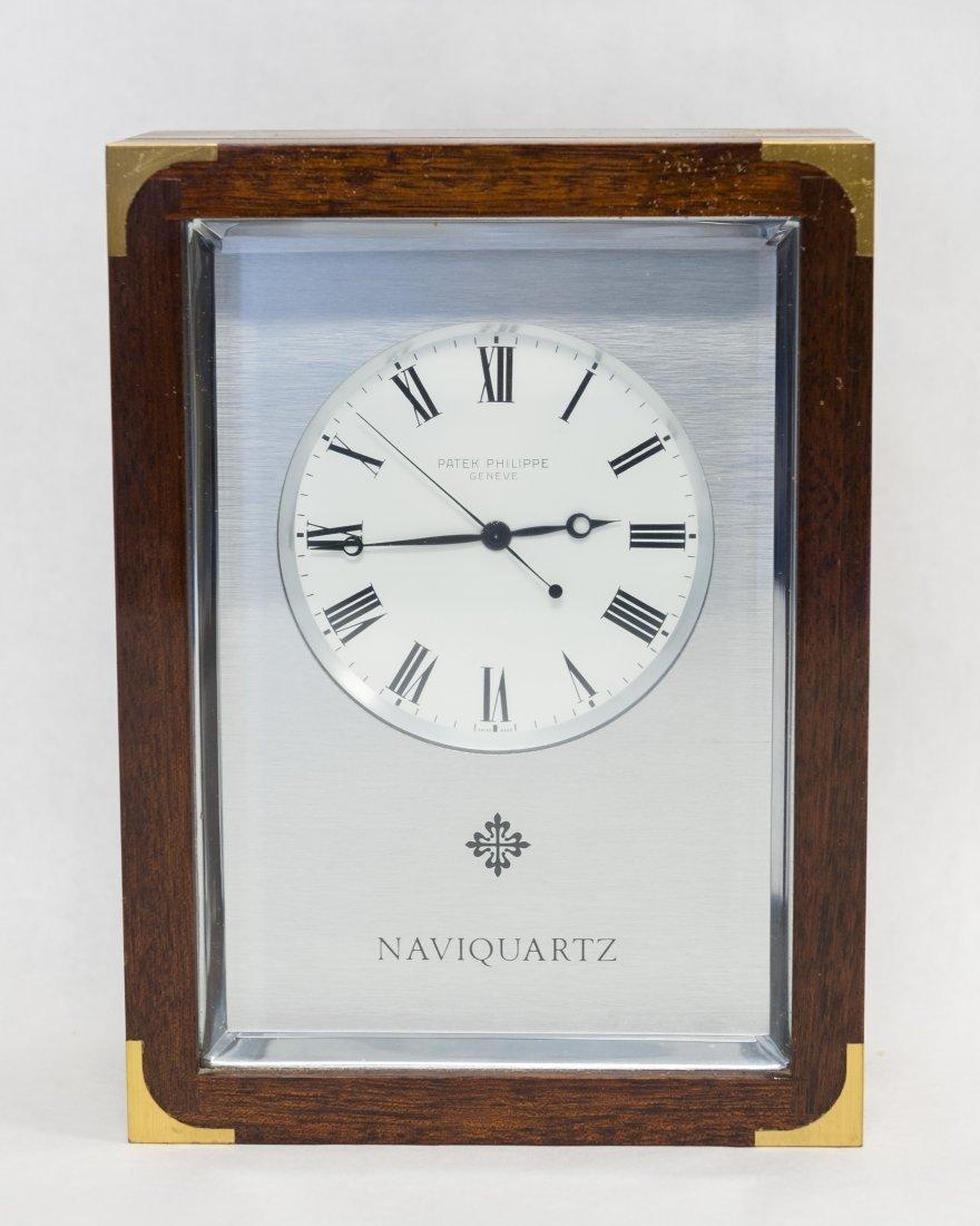 Patek Philippe Naviquartz Desk Clock.