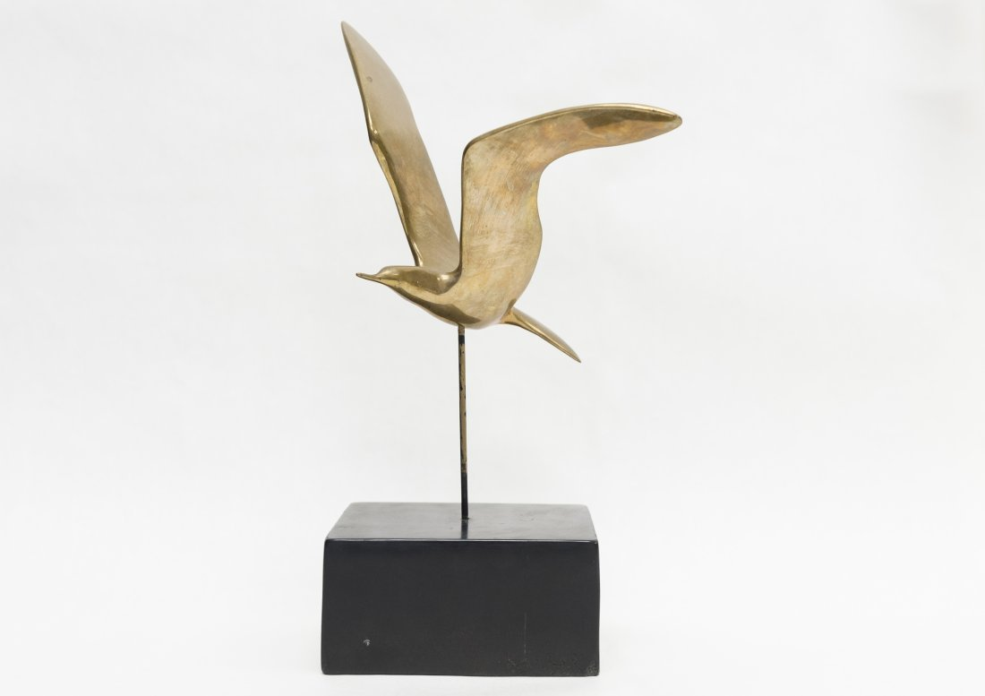Karpel Bronze Sculpture, Seagull.