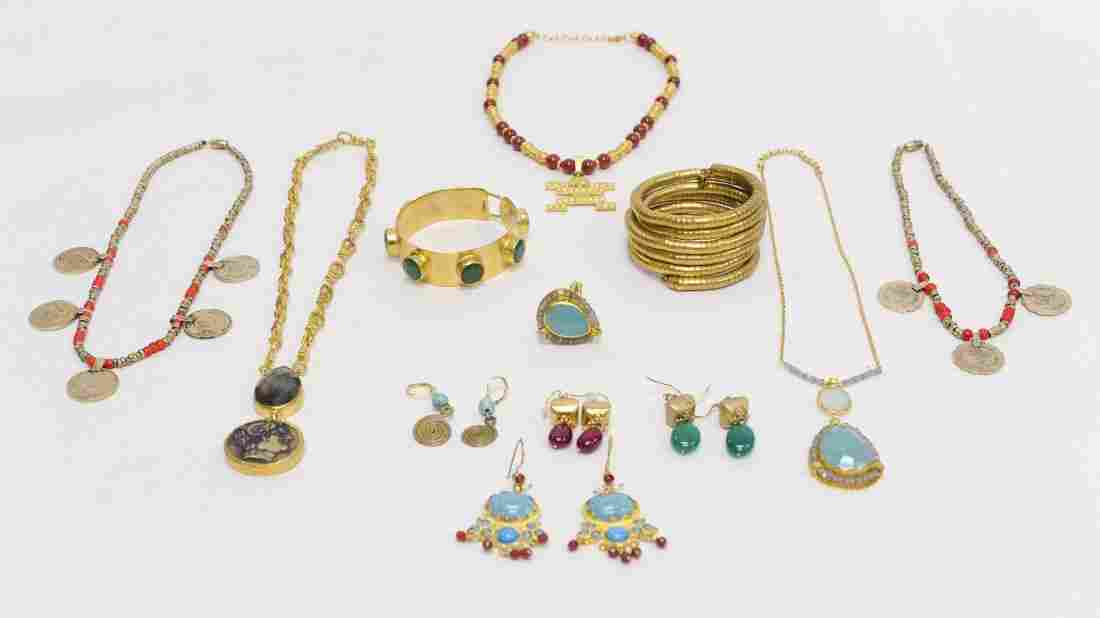 Group of Turkish Style Jewelry.