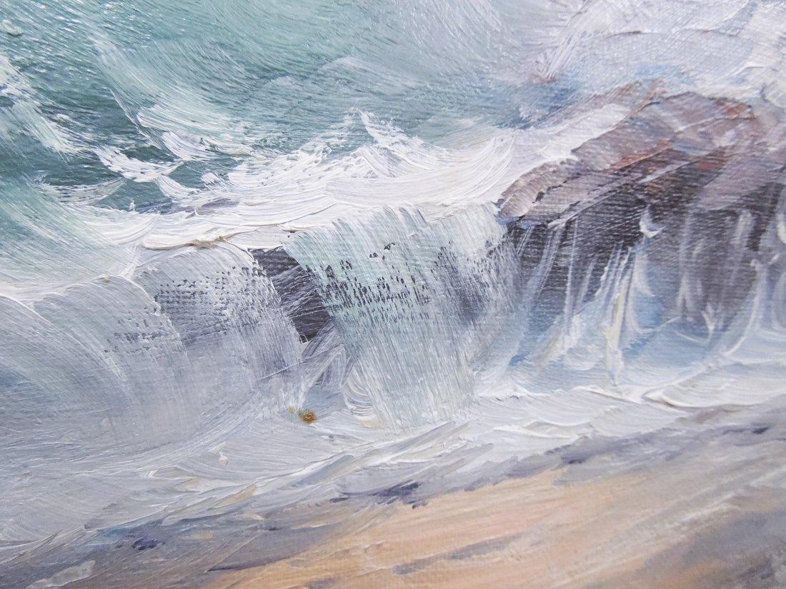 Alex Dzigurski Oil on Canvas. - 8