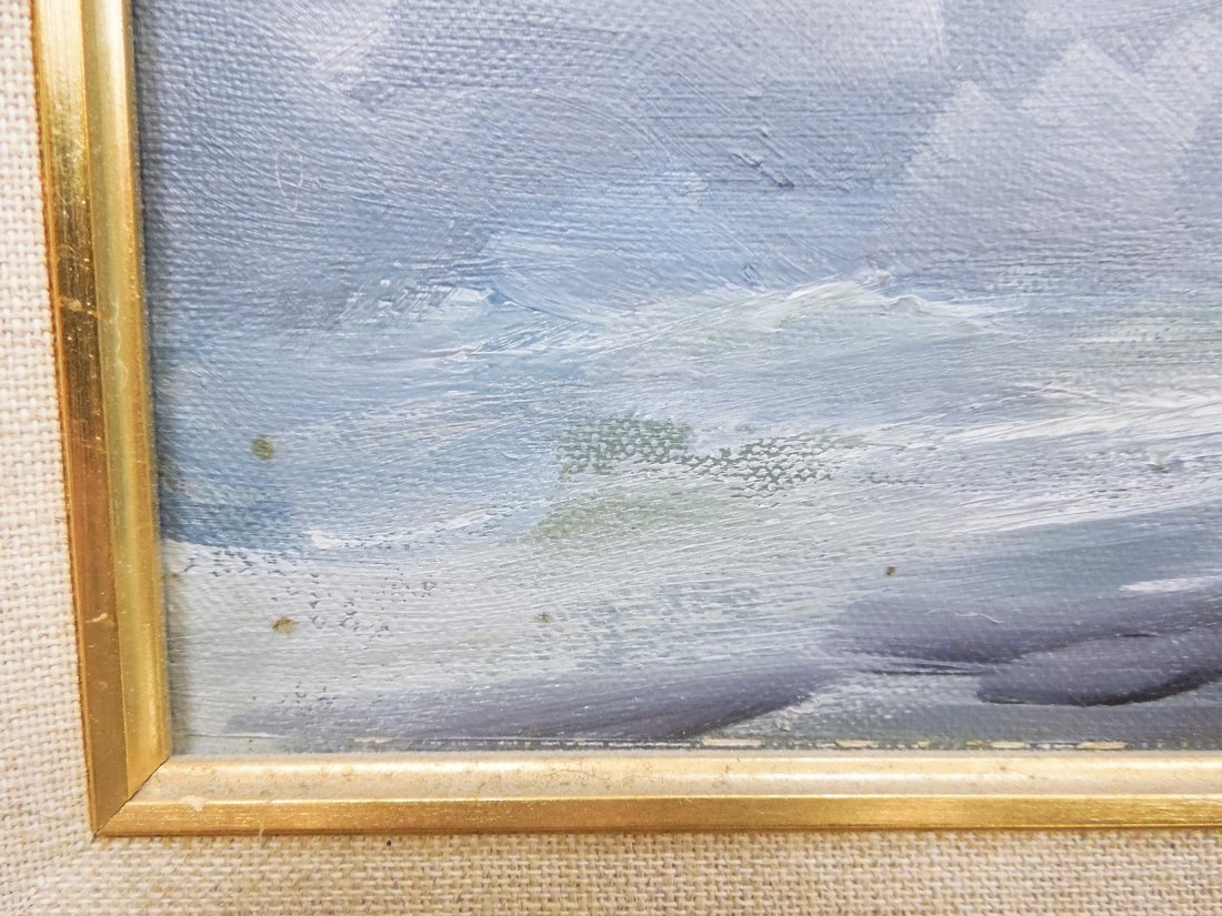 Alex Dzigurski Oil on Canvas. - 9
