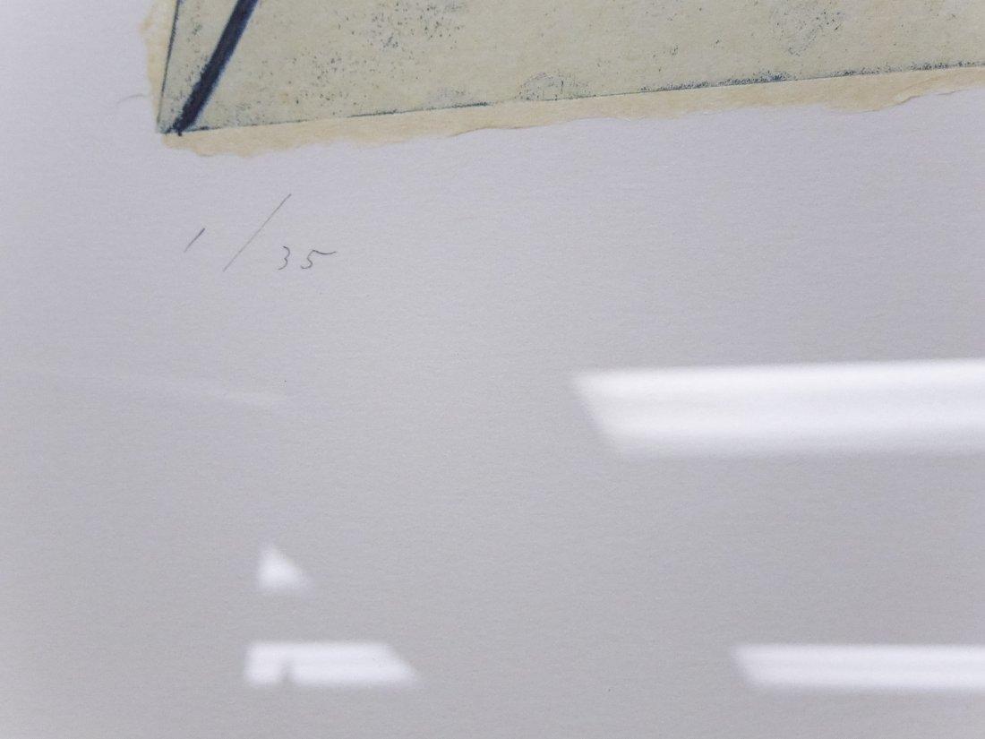 Shoichi Ida, Color Aquatint with Drypoint. - 3