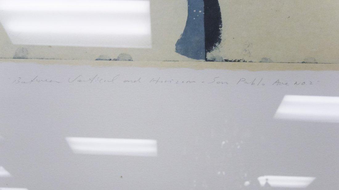 Shoichi Ida, Color Aquatint with Drypoint. - 4