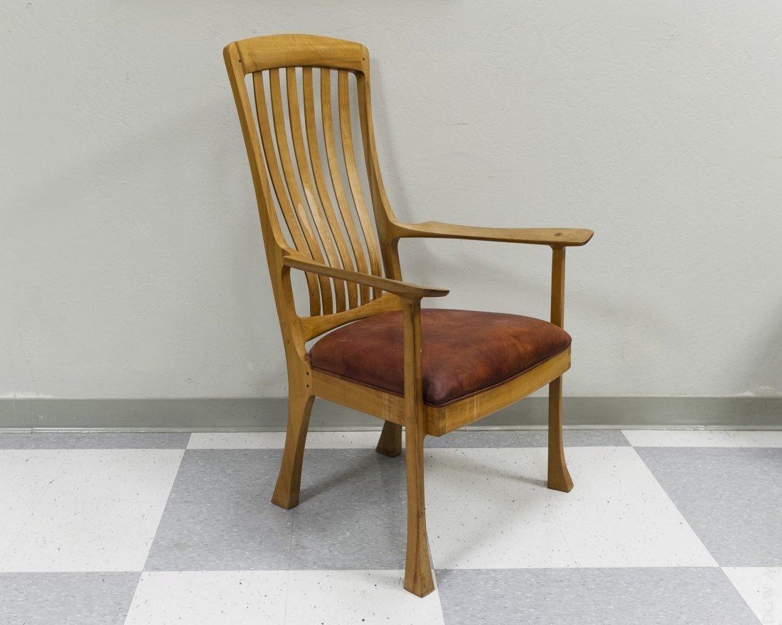 Robert Erickson South Yuba Wooden Arm Chair.
