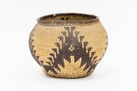 Pit River Native American Basket.