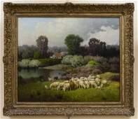 Charles T. Phelan, Oil on Canvas.