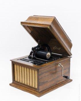 Edison Amberola 30 Phonograph.