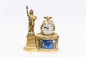 1950s Statue Of Liberty Clock.
