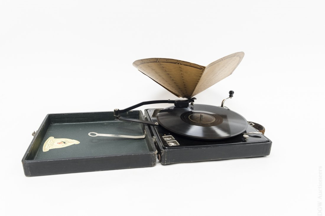 Polly Portable Phonograph.
