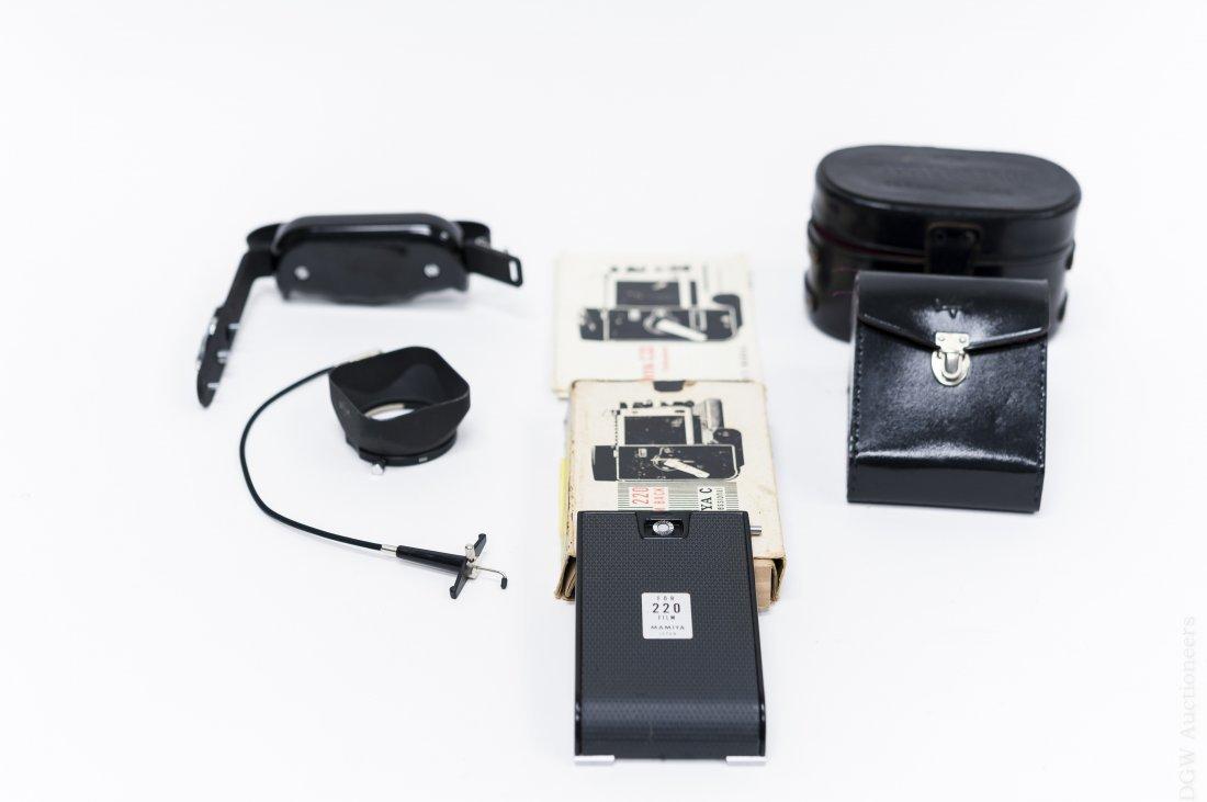 Mamiya C33 Camera with 5 Lenses. - 9