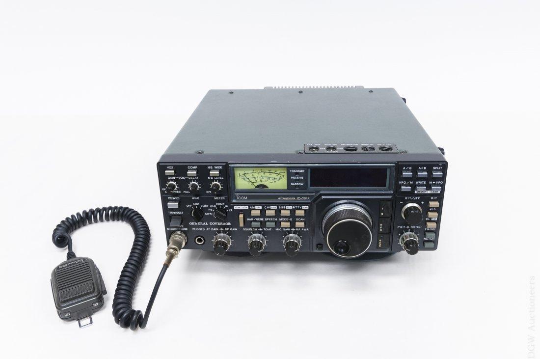 ICOM IC-751A Transceiver.