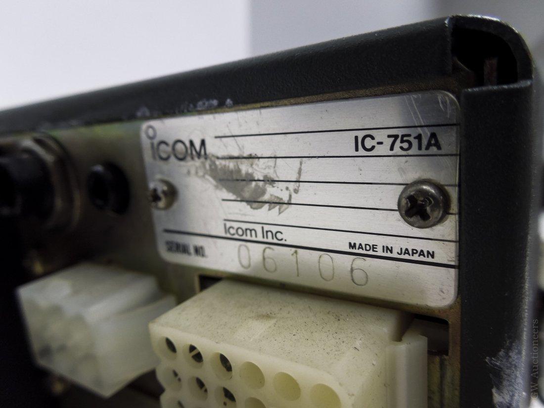 ICOM IC-751A Transceiver. - 3