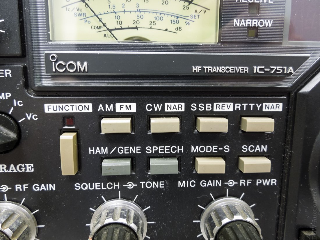 ICOM IC-751A Transceiver. - 6
