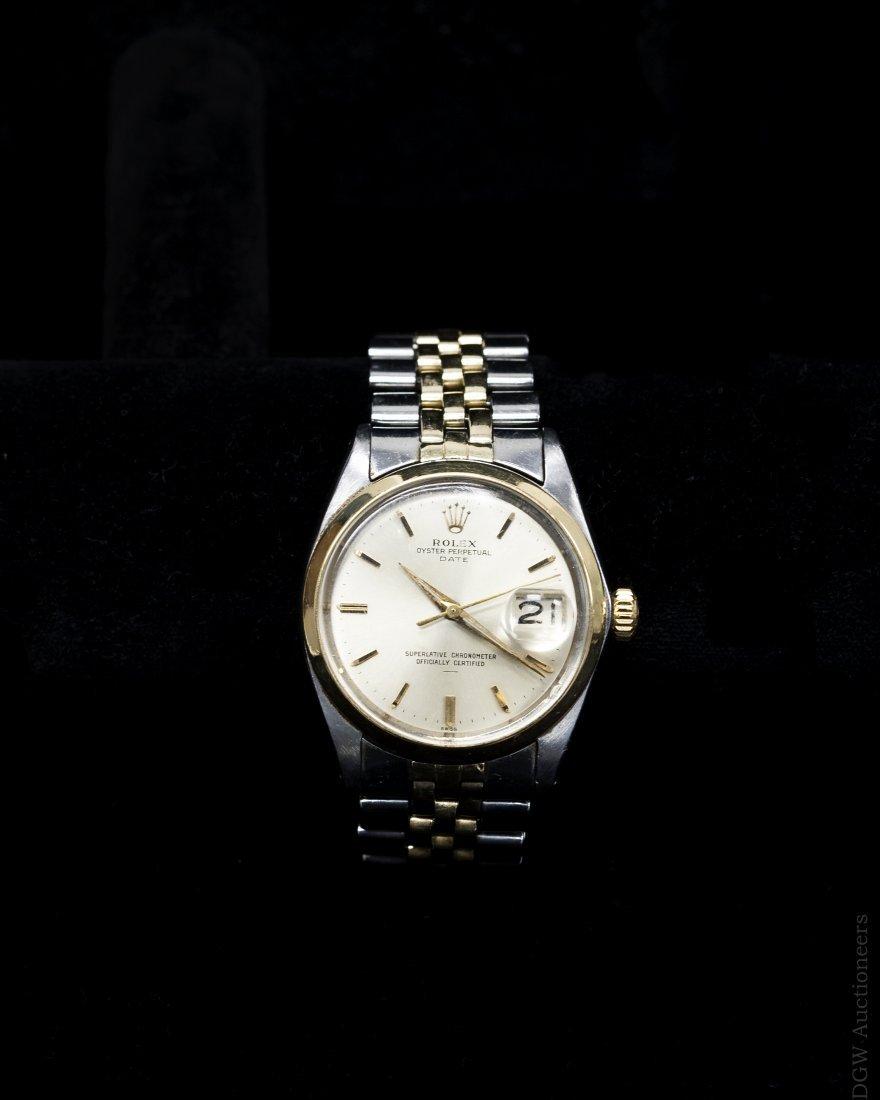 Rolex Oyster Perpetual Date 1500 Watch.