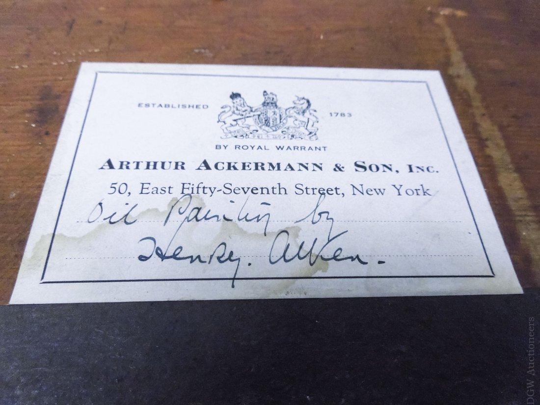 Henry Alken Oil on Board. - 3