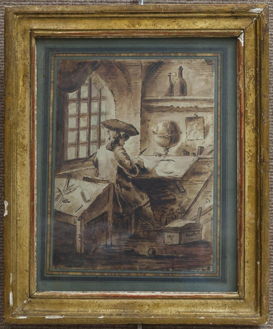 Chardin Pen & Ink on Paper.