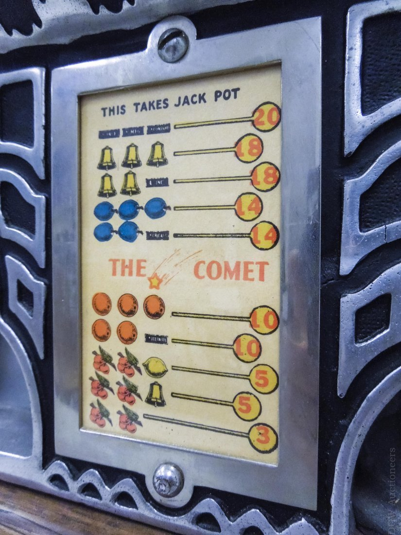 Pace Comet 5 Cent Slot Machine. - 9
