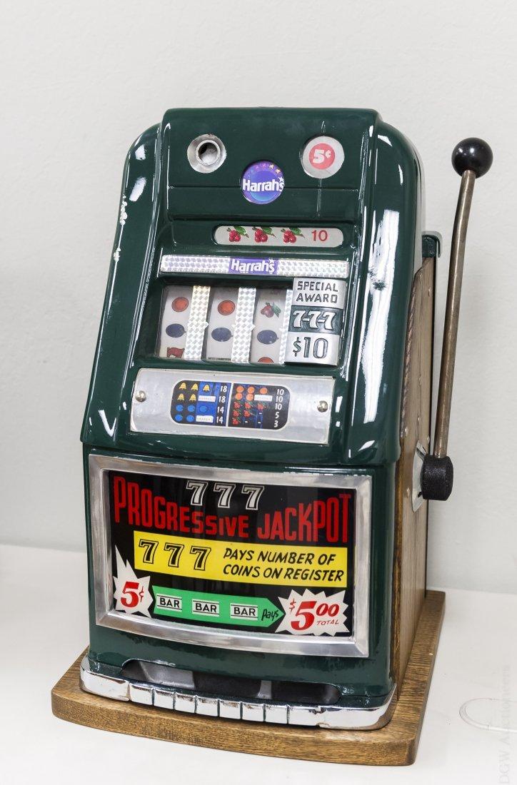 Mills High Top 5 Cent Slot Machine.