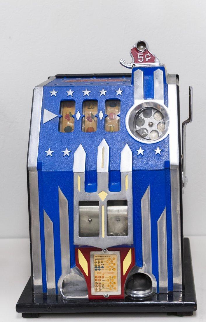 Pace Comet 5 Cent Slot Machine.