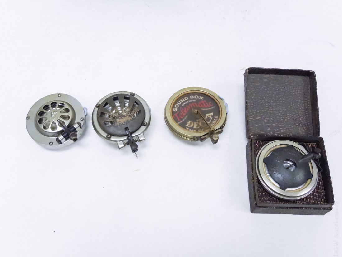 Group of Gramophone Hardware and Equipment. - 3
