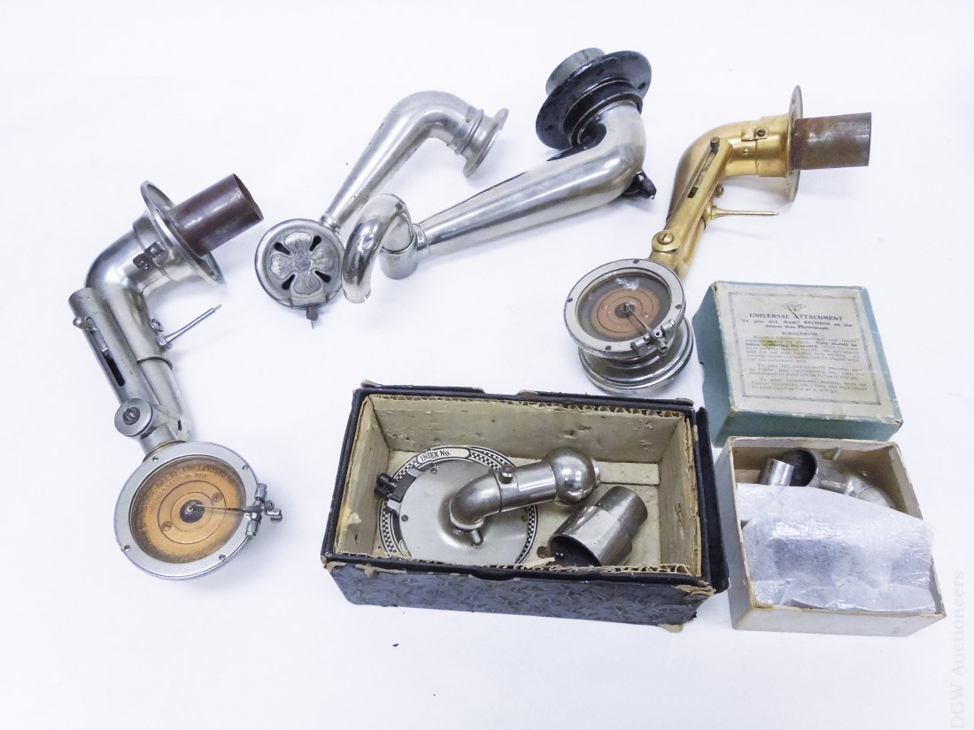 Group of Gramophone Hardware and Equipment. - 5