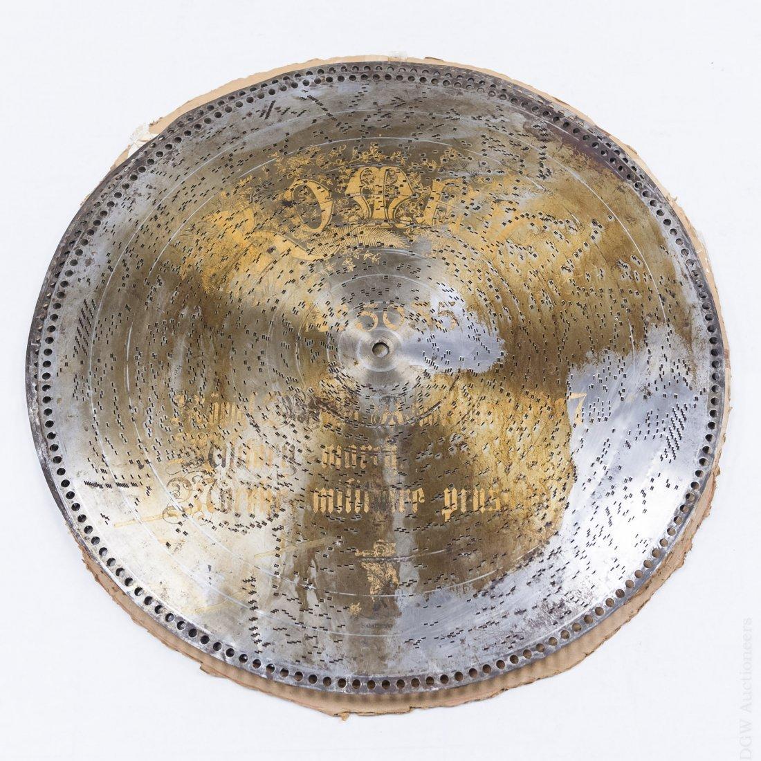 (5) Komet Metal Music Discs. - 2