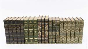 5 Sets of Leather Bound Poetry Books