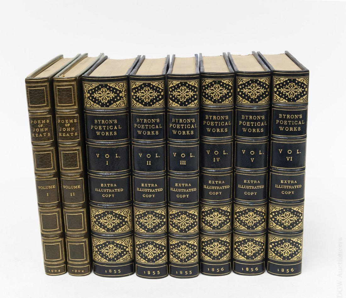 (2) Sets of 19th & 20th C. Poetical Works.