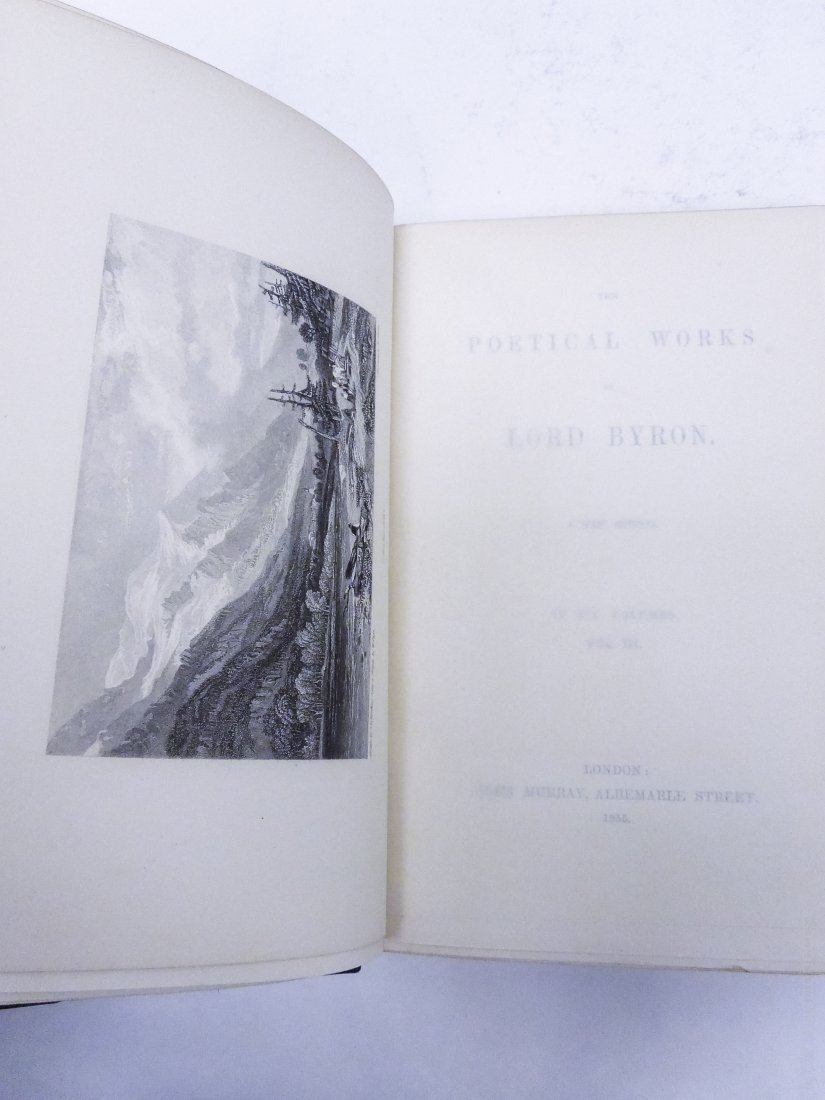 (2) Sets of 19th & 20th C. Poetical Works. - 5